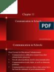 Ch11 Communication in Schools