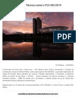 AJD Subscreve Nota Técnica Contra o PLS 402_2015 _ Empório Do Direito