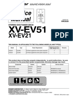 Pioneer Xv-ev51 Ev21 Sm