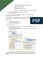 Desarrollo de Un Modelo HECHMS Con P Obs