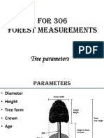 Forest Measurements