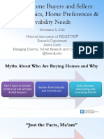 Recent Home Buyers and Sellers