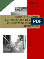 Comportamiento Estructural de Columnas