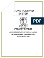 Project Report Online Ufone.doc