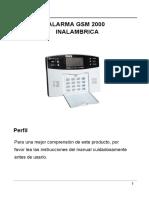 Manual Alarma Gsm 2000_A