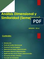 Análisis Dimensional y Similaridad (Semejanza)