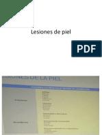 Lesiones de Piel, Sarampion, Rubeola, Varicela, Parotiditis DIAPOS