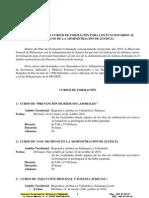 Convocatoria Formación 2010. 2 semestre.firma