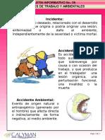 26. Incidentes de Trabajo y Ambientales