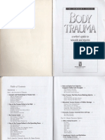 Body Trauma - A Writer's Guide to Wounds and Injuries