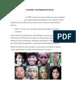 Raza, Racismo y Discriminación Racial
