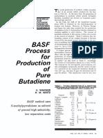 BASF Process Butadiene Separation