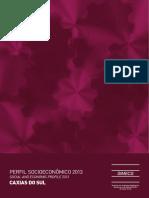 Perfil Socioeconômico 2013