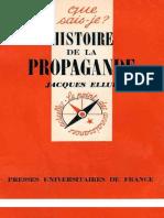 Ellul Jacques - Histoire de la Propagande.pdf