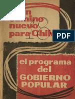 Un Camino Nuevo Para Chile-1958
