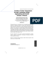 1-Amelioration of Urban Temperature