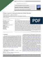 1-Climate-responsive Landscape Architecture Design Education