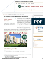 2014 DDA Housing Scheme Delhi Application Form, Loan Details