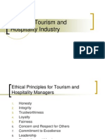 similarities and differences between tourism and hospitality