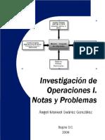 Investigacion de Operaciones Notas y Problemas