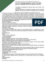 Beneficios de La Tecnología Aplicada en El Área de La Salud o Medicina Por_ RAMIREZ PATRICIO ABIGAIL JUANITA