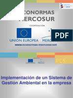 Implementación de Un Sistema de Gestion Ambiental (SGA) en La Empresa
