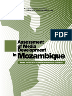 Assessment of Media Development in Mozambique – Based on UNESCO's Media Development Indicators — Tomás Vieira Mário Et Al