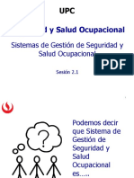 2.1 Sistema de Gestion SSO