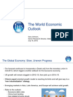 2012-07-16. the World Economic Outlook