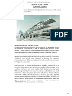 TEORIA DE LA FORMA - INTERRELACIONES