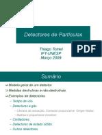 Detectores de Particulas I