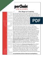Five Steps to Creativity.pdf