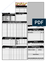 Interactive Mekton Mek Sheet