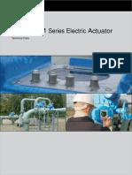 Ledeen Dim Series Electric Actuator Technical Data Booklet