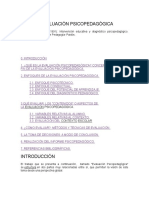 Evaluación Psicopedagógica (Ma. Bassedas)