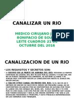 Canalizar Un Rio