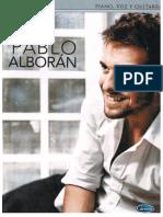Album - Pablo Alboran - (Songbook) (51) (Pf)