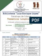 Catálogo-LINGÜÍSTICA