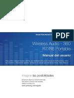 WAM7500 WAM6500 SPA M-0622- Manual Parlantes Samsung