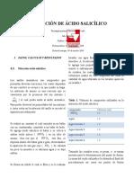 Nitracion Del Acido Salicilico