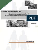 2012 03 Estudio Externo de Tendencias Segmento Socioeconomico D