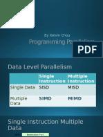 Programming Parallelism