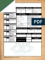 Smrpg Fillable Character Sheet