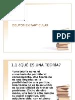 TEORIA DEL DELITO
