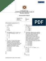 Smp---naskah Soal Olimpiade Matematika 2016 Smp Babak Penyisihan - Tidak Acak