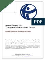 2004 Annual Report-English Georgia