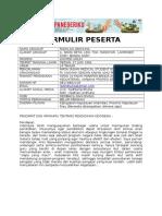 Formulir Dr Faddlan Arduha