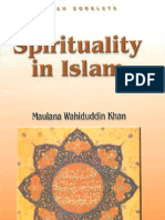 Spirituality in Islam by Maulana Wahiduddin Khan