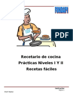 Manual de Recetas Fundapi Nivel I y II