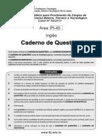 Prof. EBT.2013.Cad Questões PI-45